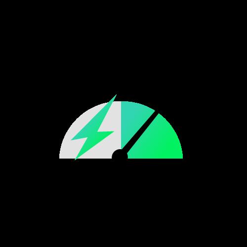 Sitio web rapido icono fast