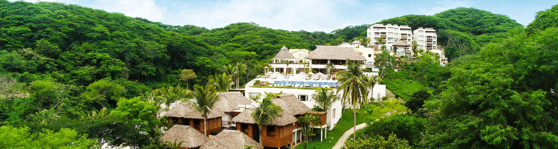 Sirenis destino turistico con excelente vista panoramica verde