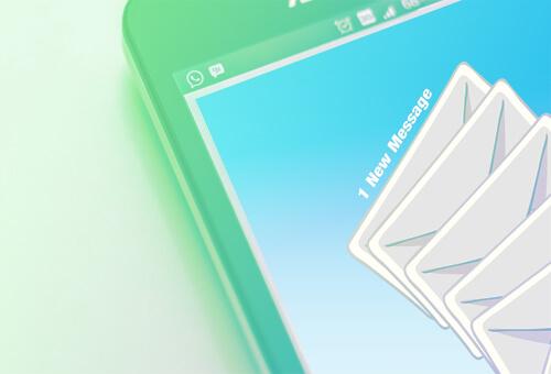 email marketing imagen con telefono